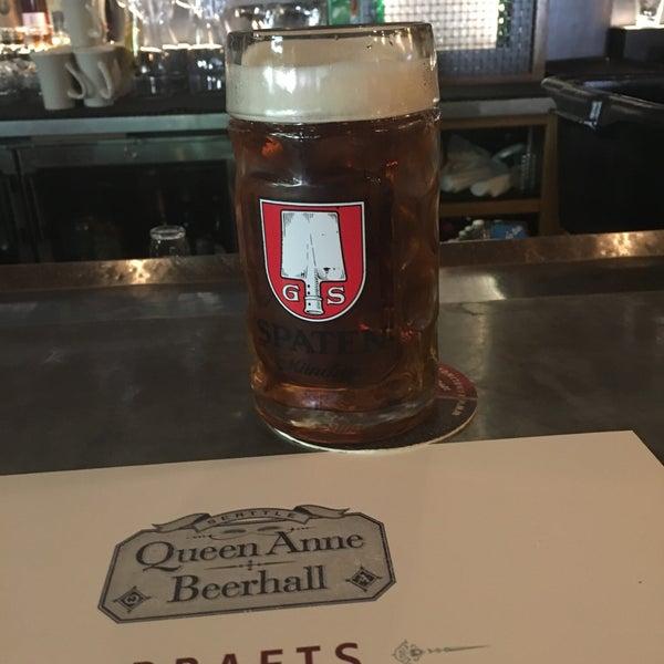 8/28/2019에 Max Q.님이 Queen Anne Beerhall에서 찍은 사진