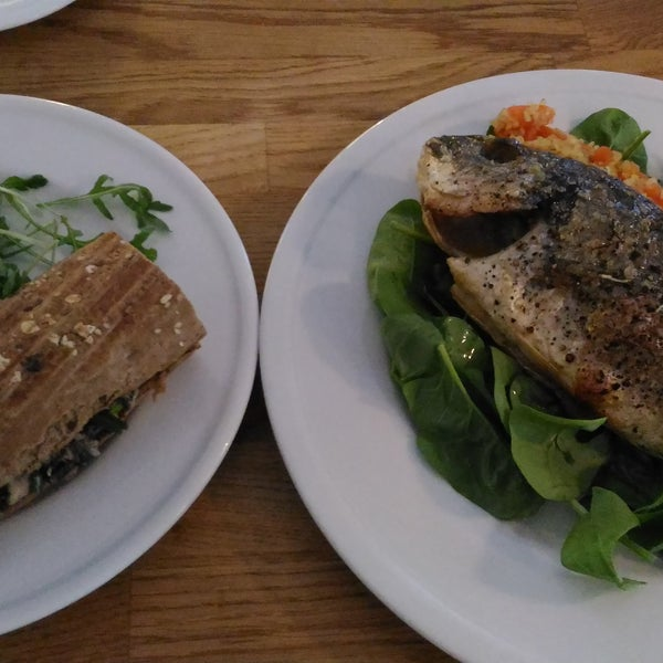 Seabream is big and tasty!