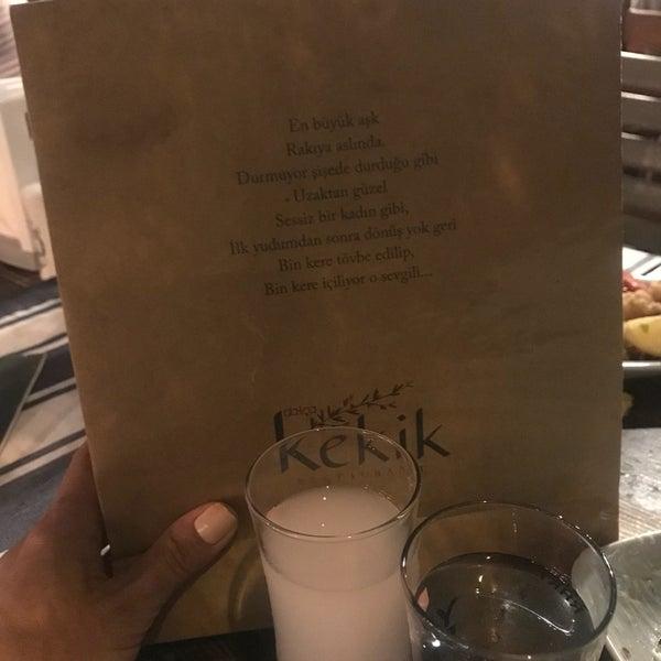 8/25/2018 tarihinde Nilgun S.ziyaretçi tarafından Kekik Restaurant'de çekilen fotoğraf