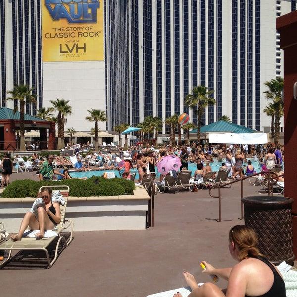 Снимок сделан в LVH - Las Vegas Hotel & Casino пользователем Kerri L. 4/21/2013