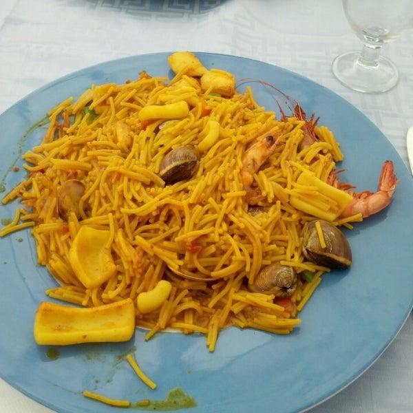 Das Foto wurde bei Restaurante Salamanca von Adolfo G. am 3/31/2013 aufgenommen