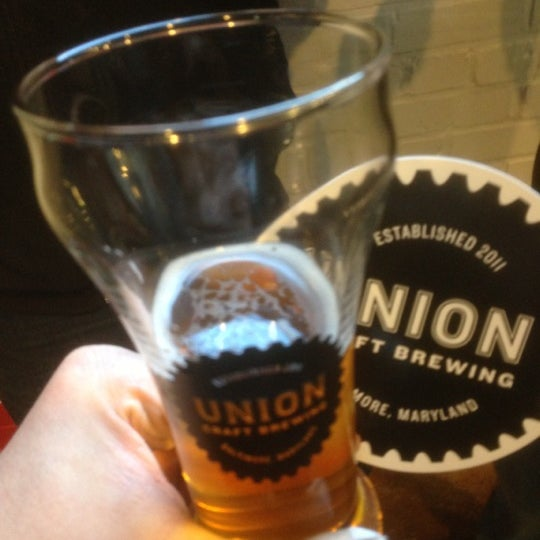 Photo taken at Union Craft Brewing by Dennis P. on 12/1/2012