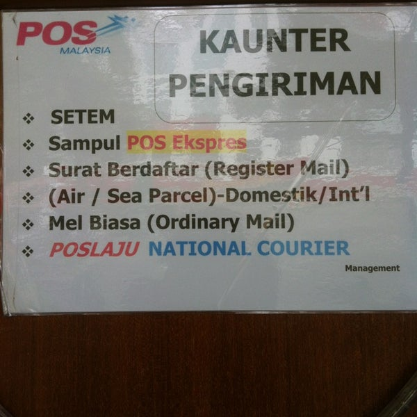 POS Mini - Post Office in Kuching
