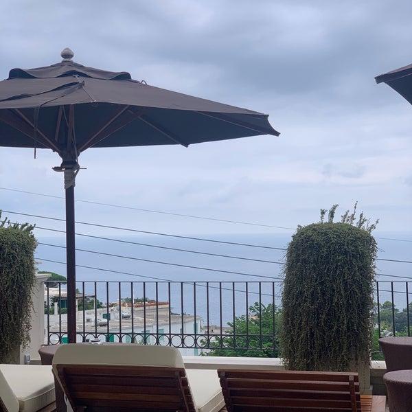 Снимок сделан в Capri Tiberio Palace пользователем Dana 9/2/2019