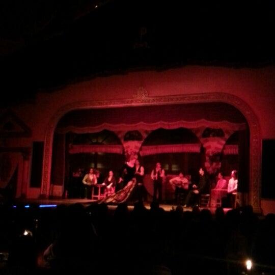Foto tomada en Tablao Flamenco El Palacio Andaluz por Cindy P. S. el 12/25/2012