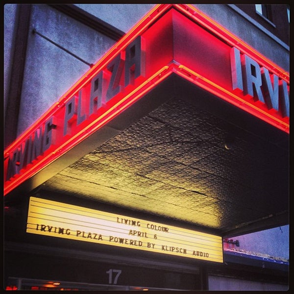 Photo prise au Irving Plaza par Brian P. le4/6/2013