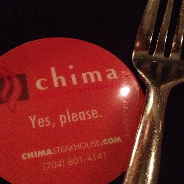 Foto diambil di Chima Brazilian Steakhouse oleh Josh R. pada 4/15/2013