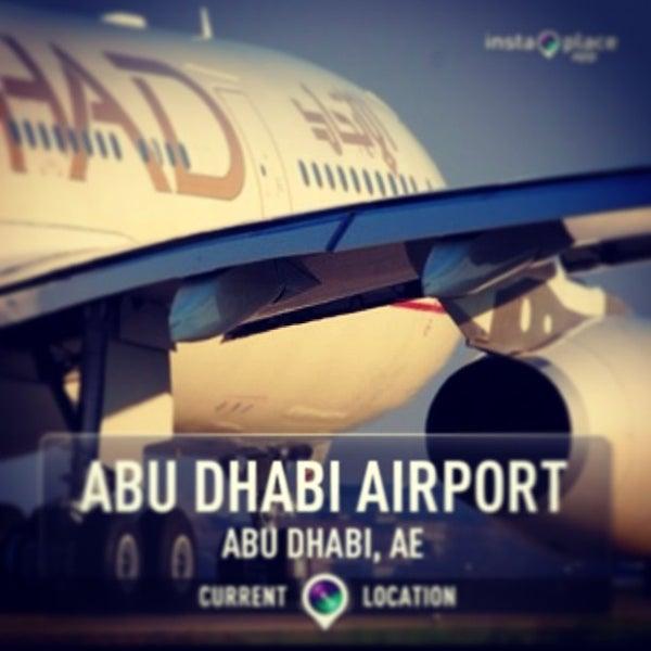 Photo prise au Abu Dhabi International Airport (AUH) par Malcolm X. le6/3/2013