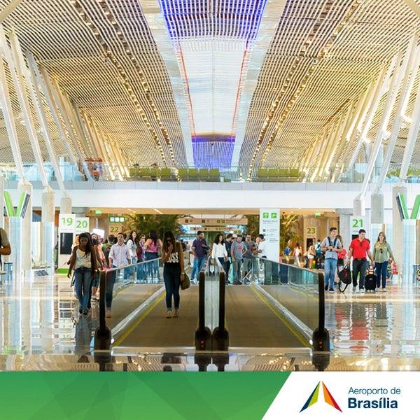 Foto tomada en Aeropuerto Internacional de Brasilia Presidente Juscelino Kubitschek (BSB) por Aeroporto Internacional de Brasília / Presidente Juscelino Kubitschek (BSB) el 7/29/2014