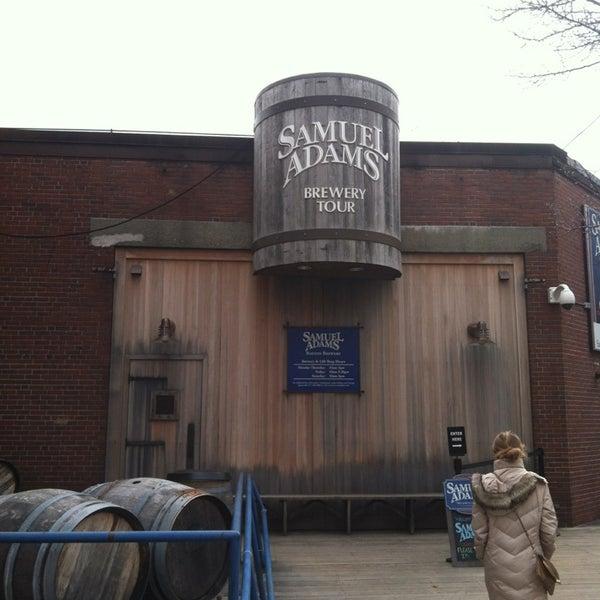 Photo prise au Samuel Adams Brewery par Christian M. le3/14/2013