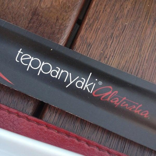 Das Foto wurde bei Teppanyaki Alaturka von Seren👣 am 6/22/2013 aufgenommen
