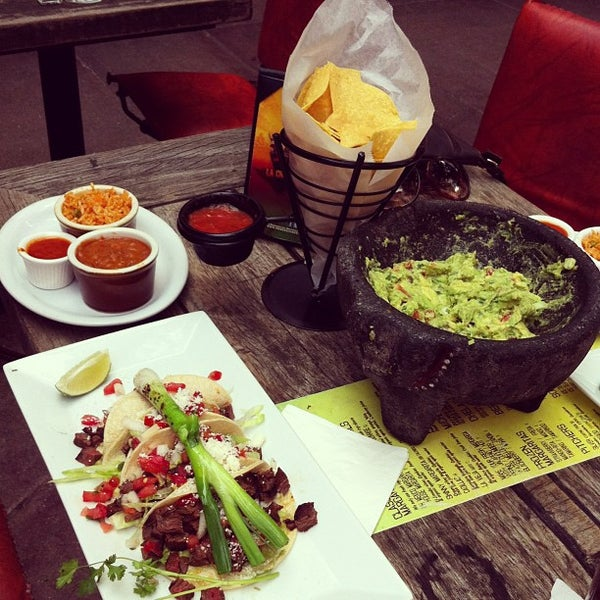 For the true mexican food lover come to Oh Mexico 1440 Washington Ave., Miami Beach