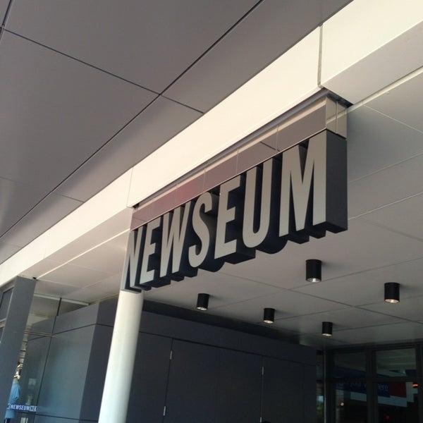 Снимок сделан в Музей журналистики и новостей пользователем Christian D. 5/17/2013