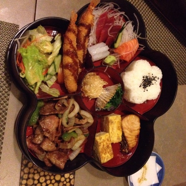 Try their beef steak bento set! Reasonable price yet authentic japanese!