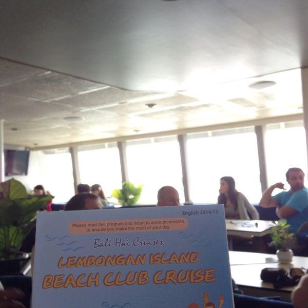 9/5/2014에 Loay Z.님이 Bali Hai Cruises에서 찍은 사진