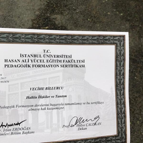 Hasan Ali Yucel Egitim Fakultesi Dekanligi