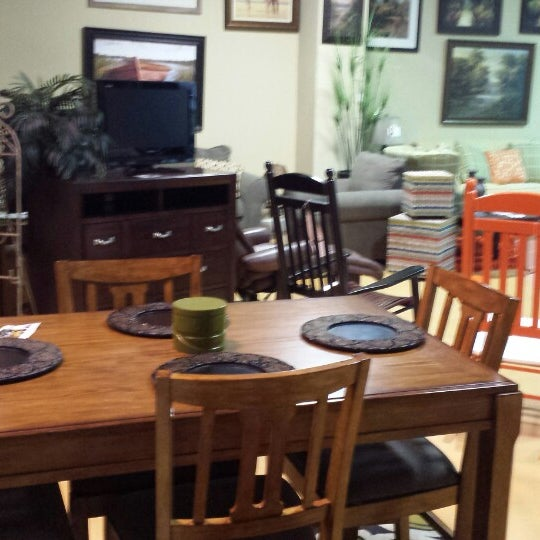 Photo Taken At My Rooms Furniture Gallery By Scott B. On 11/6/