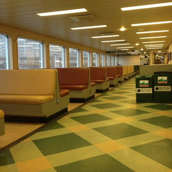 Bainbridge Island Ferry Seattle Central Business