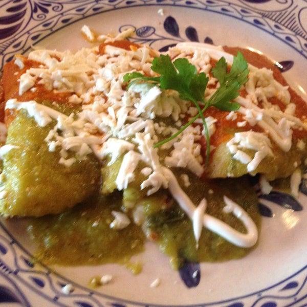 So delicious, enchiladas divorciadas