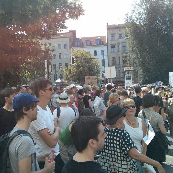Photo prise au Critical Mass Berlin par wienervig le7/27/2013