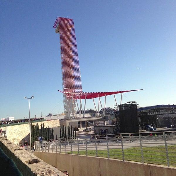 11/16/2012 tarihinde Tung L.ziyaretçi tarafından Circuit of The Americas'de çekilen fotoğraf