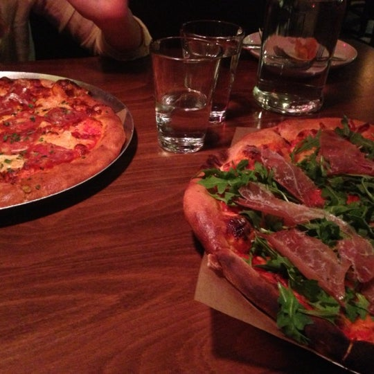 Photo taken at Lucky Pie Pizza & Tap House by Bryan B. on 11/21/2012