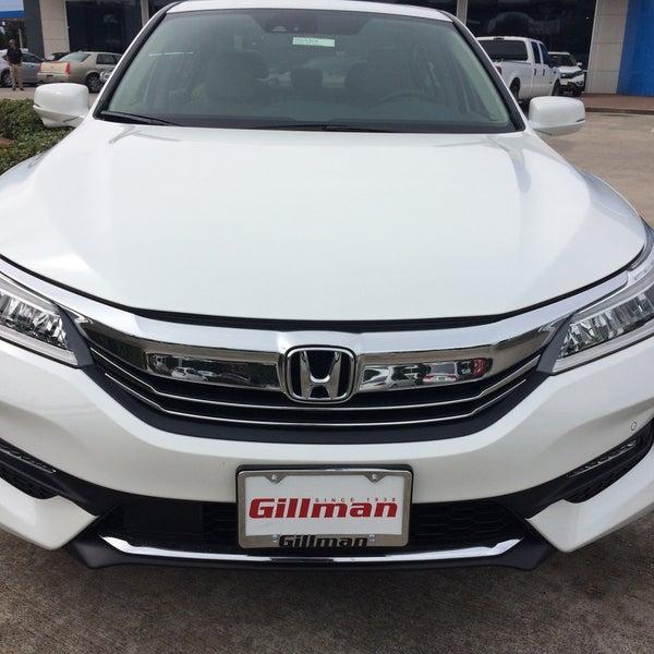Gillman Honda Houston >> Photos At Gillman Honda Houston Westwood 10595 West Sam