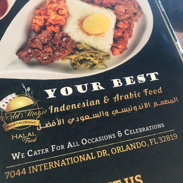 World's Magic Restaurant - Middle Eastern Restaurant