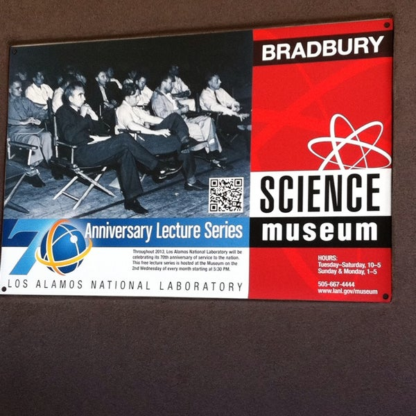Photo taken at Bradbury Science Museum by Mills G. on 8/23/2013