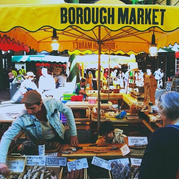 Foto tirada no(a) Borough Market por Catarina S. em 5/4/2013