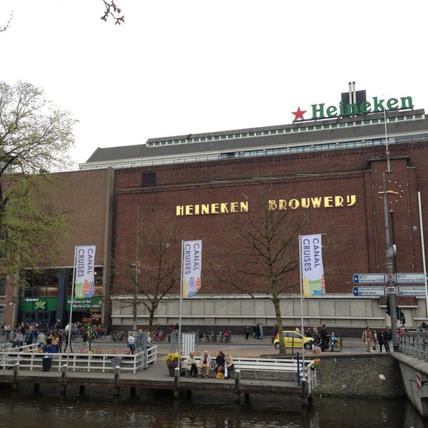 5/2/2013 tarihinde Christian C.ziyaretçi tarafından Heineken Experience'de çekilen fotoğraf