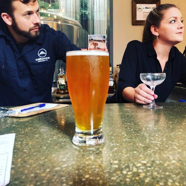 8/4/2019에 Tony C.님이 Caboose Brewing Company에서 찍은 사진
