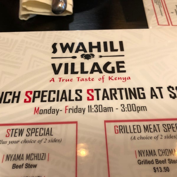 Photos at Swahili Village Bar and Grill - African Restaurant