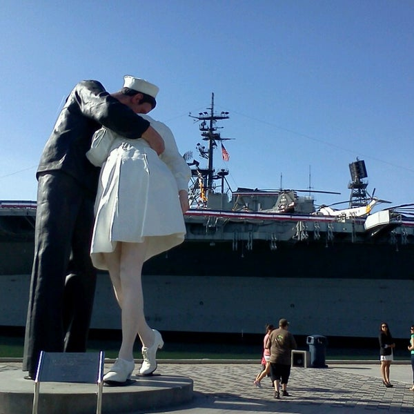 Photo taken at USS Midway Museum by E Shige on 5/25/2013