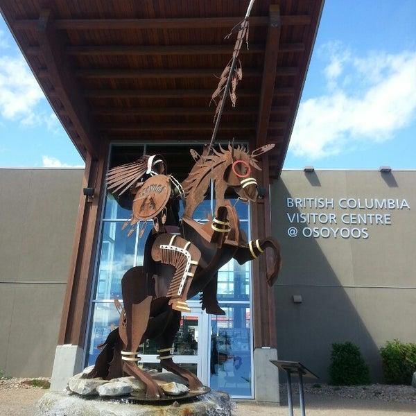 Das Foto wurde bei British Columbia Visitor Centre @ Osoyoos von Sergio R. am 5/3/2014 aufgenommen