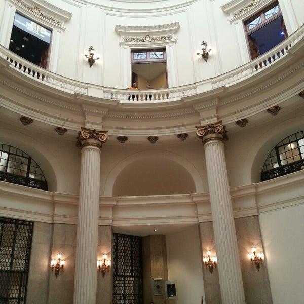 Photo taken at Centro Cultural Banco do Brasil (CCBB) by Roberto O. on 4/13/2013
