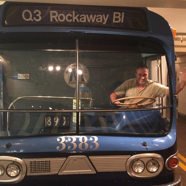 8/3/2016 tarihinde John T.ziyaretçi tarafından New York Transit Museum'de çekilen fotoğraf