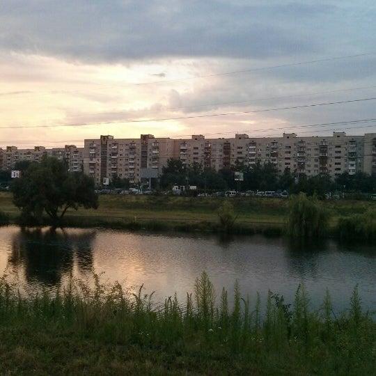 รูปภาพถ่ายที่ Троєщинський канал โดย Валентин К. เมื่อ 7/10/2014