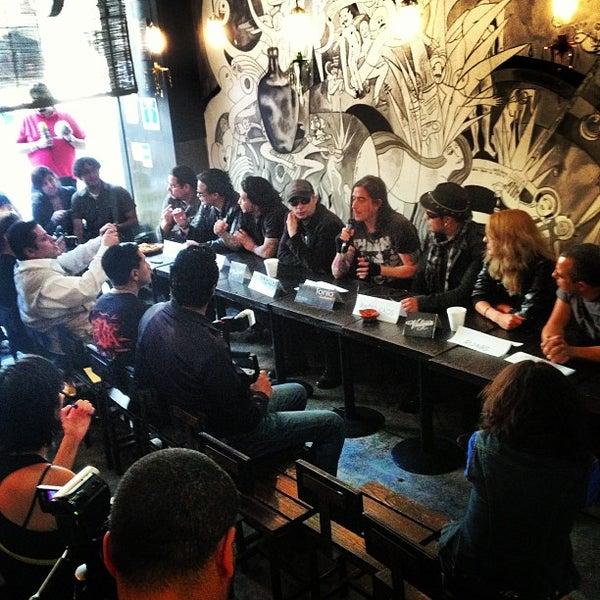 Das Foto wurde bei Mezcaleria Vulgar von Rodrigo L. am 12/18/2012 aufgenommen