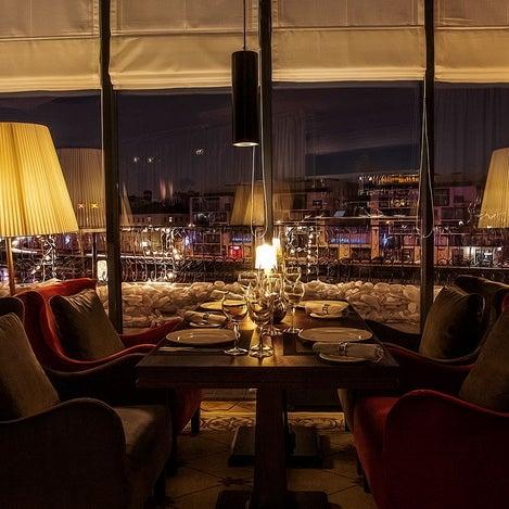 Foto tirada no(a) Ресторан & Lounge «Река» por Ресторан & Lounge «Река» em 9/11/2013
