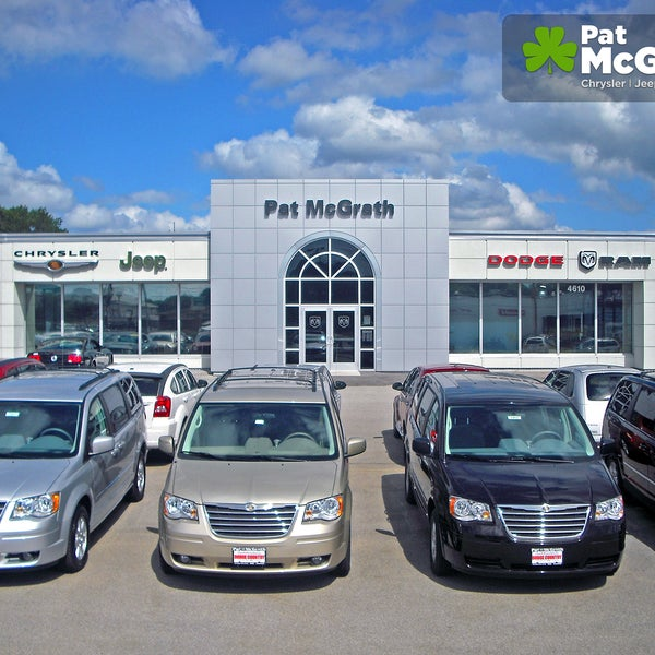 Pat Mcgrath Cedar Rapids >> Photos At Pat Mcgrath Chrysler Jeep Dodge Ram Fiat Auto