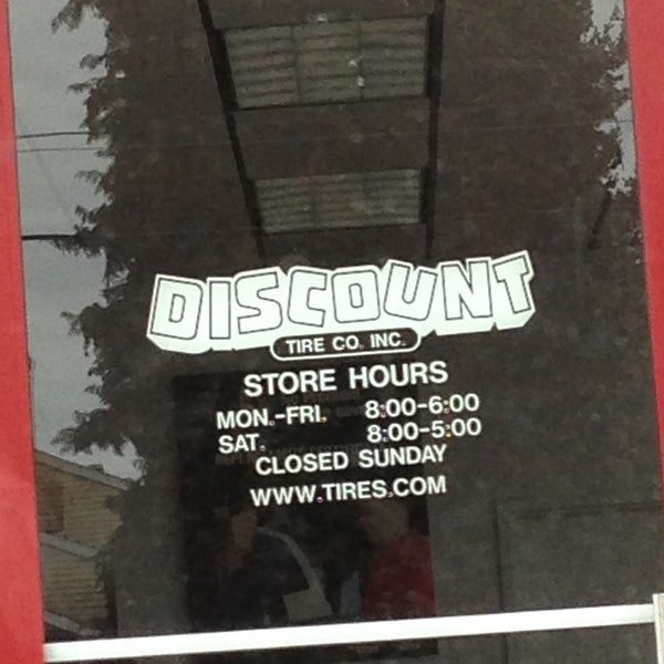 Discount Tire - West End - 1029 N Pearl St