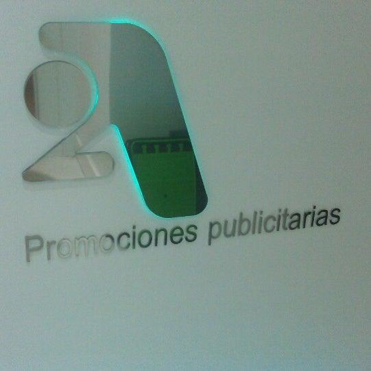 Снимок сделан в 2A Promociones Publicitarias пользователем Joaquín D. 5/8/2013
