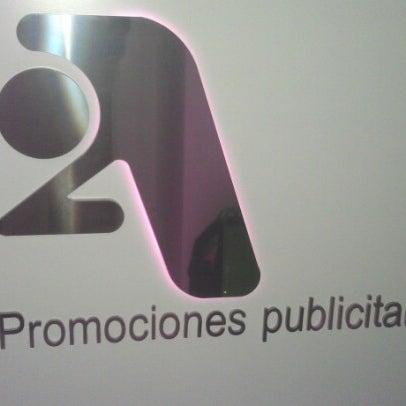 Снимок сделан в 2A Promociones Publicitarias пользователем Joaquín D. 9/17/2012