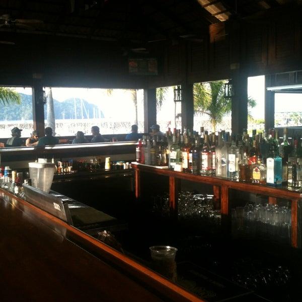 Die Hookup-Bar und das Restaurant costa rica