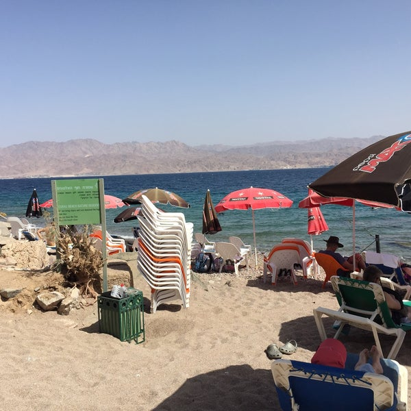 Photo Taken At Migdalor Beach Club Eilat By Albert S On 3 24