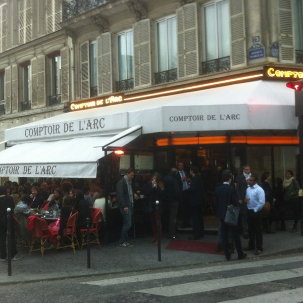 Le comptoir de l 39 arc now closed french restaurant in paris - Le comptoir paris restaurant ...