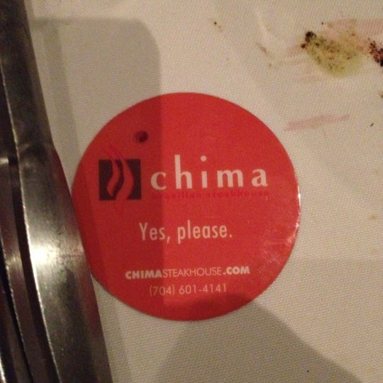 Foto diambil di Chima Brazilian Steakhouse oleh Shane P. pada 1/5/2013