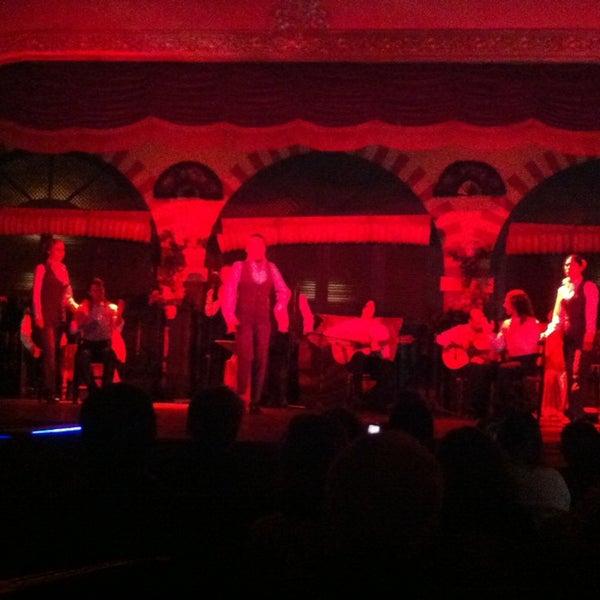 Foto tomada en Tablao Flamenco El Palacio Andaluz por Mehmet C. el 3/31/2013