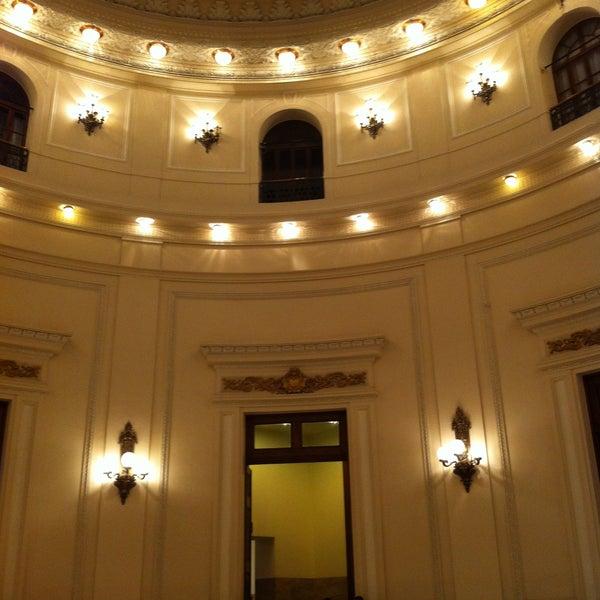 Photo taken at Centro Cultural Banco do Brasil (CCBB) by Fellipe D. on 4/26/2013